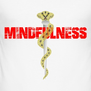 Mindfulness - Slim Fit T-shirt herr