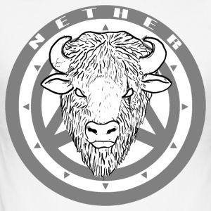 Nether Bison - Men's Slim Fit T-Shirt