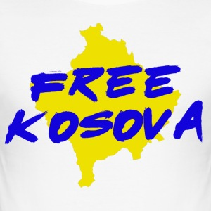 FREE KOSOVA - Men's Slim Fit T-Shirt