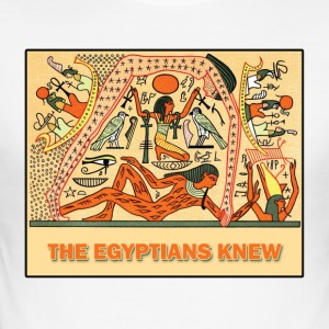 THE EGYPTIANS KNEW - Men's Slim Fit T-Shirt