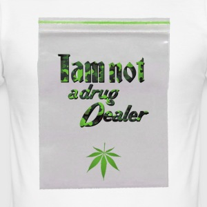 Iam not a drug dealer - Cannabis - Weed - Men's Slim Fit T-Shirt