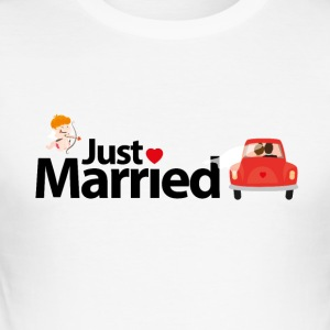 Just Married - Tee shirt près du corps Homme