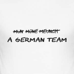 A German Team - Männer Slim Fit T-Shirt
