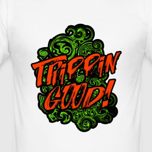 Trippin GOOD - Slim Fit T-skjorte for menn