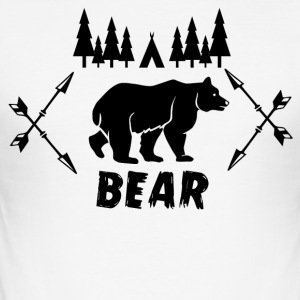 BEAR - Men's Slim Fit T-Shirt