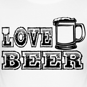 LOVE BEER zwart - slim fit T-shirt