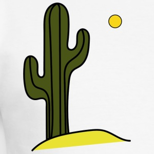 cactus - Men's Slim Fit T-Shirt