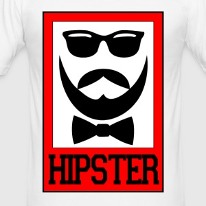 hipster - Tee shirt près du corps Homme