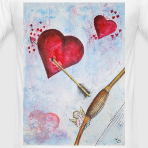 amor - Männer Slim Fit T-Shirt