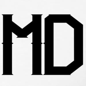 MD Logo - Men's Slim Fit T-Shirt