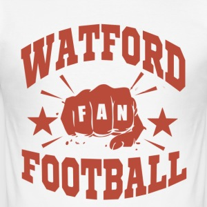 Watford Football Fan - Slim Fit T-skjorte for menn