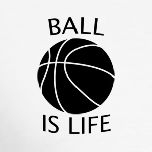 Ball Is Life - Men's Slim Fit T-Shirt