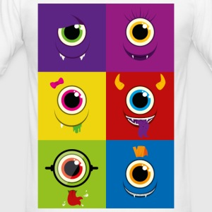 Monster family - Men's Slim Fit T-Shirt