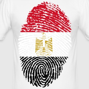 EGYPTEN / EGYPT FINGERPRINT - Herre Slim Fit T-Shirt