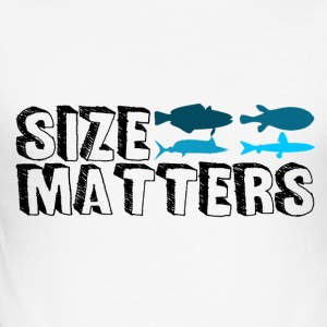 Fishing - Size Matters - Men's Slim Fit T-Shirt