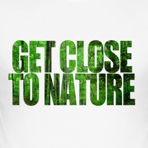 GET NATURE - slim fit T-shirt