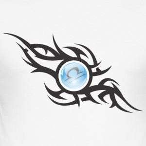 Libra Sphere Tribal Mode - Camiseta ajustada hombre