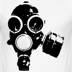 GAS MASK / rock n roll T-SHIRT - slim fit T-shirt