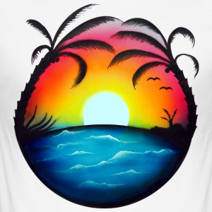 Beach - Männer Slim Fit T-Shirt