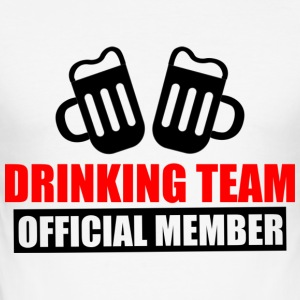 drinking team: official member - Men's Slim Fit T-Shirt