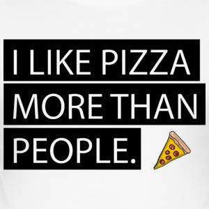 Pizza on Everything - Men's Slim Fit T-Shirt