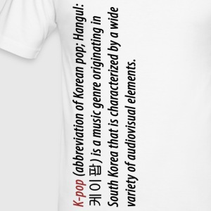 What is K Pop - Männer Slim Fit T-Shirt