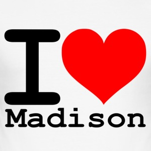 I love Madison - Men's Slim Fit T-Shirt