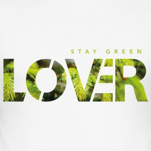 Bo Green Lover - Herre Slim Fit T-Shirt