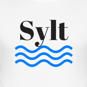 Sylt - Slim Fit T-skjorte for menn