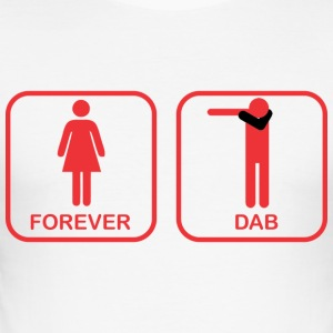 DAB FOREVER Ladies and Gentlemen - Men's Slim Fit T-Shirt