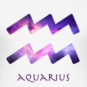 Aquarius - Slim Fit T-skjorte for menn
