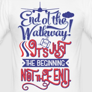 Bangkok Airport End of the Walkway - Männer Slim Fit T-Shirt