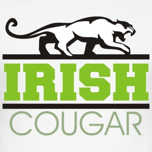 Irish Cougar Women's - Men's Slim Fit T-Shirt
