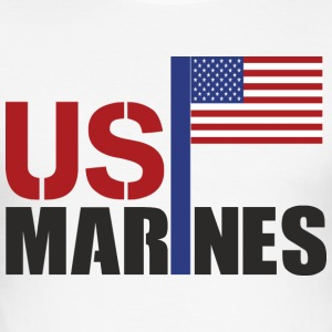 MARINES - Slim Fit T-shirt herr
