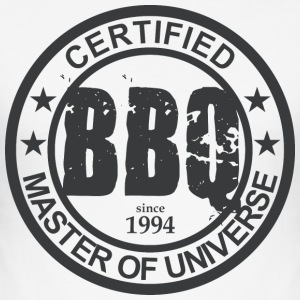 Certified BBQ Master 1994 Grillmeister - Men's Slim Fit T-Shirt