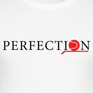 Perfection tennis brand black/red - Maglietta aderente da uomo