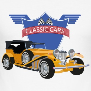 Classic Car - Männer Slim Fit T-Shirt