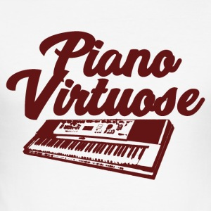 Piano virtuos - Musik - Herre Slim Fit T-Shirt