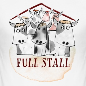 Full stall - Slim Fit T-shirt herr