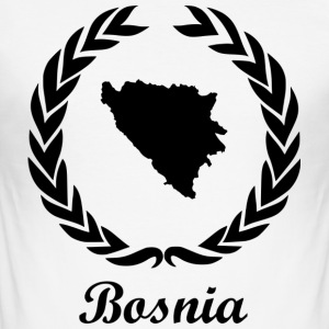 "Connect ExYu Shirt ""Bosnia"" - Men's Slim Fit T-Shirt"