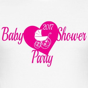 Babyshower Party 2017 - slim fit T-shirt