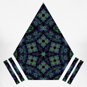 mandala - Slim Fit T-skjorte for menn