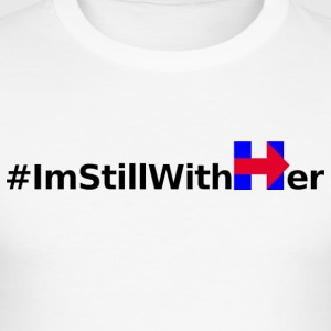 I'm Still With Her - Men's Slim Fit T-Shirt