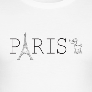 PARIS - Herre Slim Fit T-Shirt