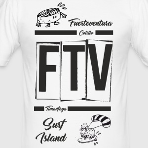 FUERTEVENTURA_1 - Slim Fit T-shirt herr