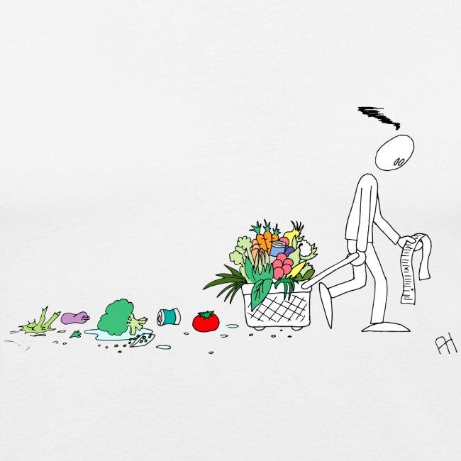 frukt og grønt handleveske