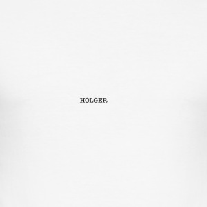 Holger Cover - Herre Slim Fit T-Shirt
