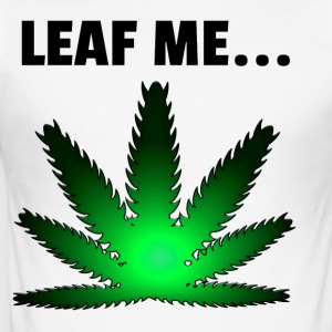 Leaf me - Men's Slim Fit T-Shirt