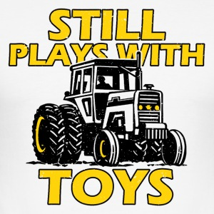 Tractor man's toy - Men's Slim Fit T-Shirt