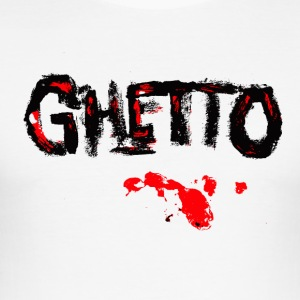 GHETTO BLOOD - slim fit T-shirt
